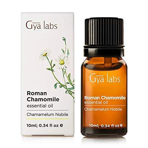 Olio essenziale di camomilla romana (Itay)–100% puro, biologico, naturale e terapeutico per aromaterapia diffusore, salute della pelle e Relaxtion–10ml–Gya Labs