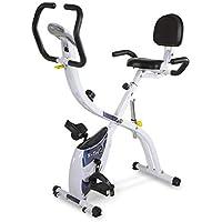 Preisvergleich für Tecnovita by BH X-TRI2 YF910 klappbarer Heimtrainer, Fitnessbike, 3 Aufstellmöglichkeiten, 10 kg Schwungmasse
