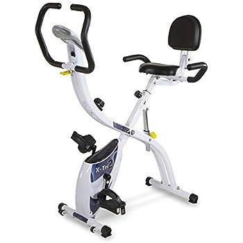 Bicicleta estática plegable X-TRI2. 3 posiciones entrenamiento ...