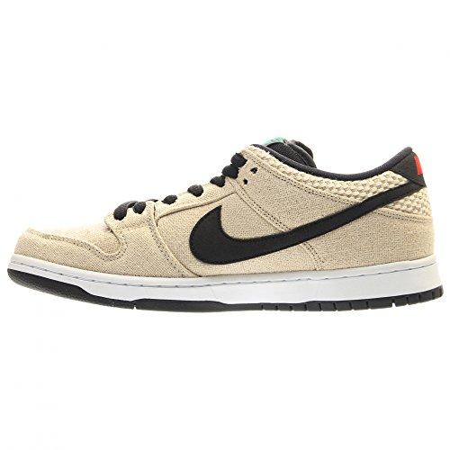 Nike Dunk Low Premium Sb, Chaussures de Sport Homme beige - Beige (Bamboo / Black-White)
