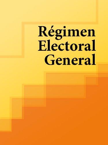 Régimen Electoral General (Spain) por Los libros de derecho