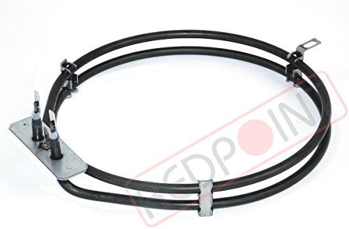 Resistencia Horno Ventilado W2400V230ø195–Made in Italy