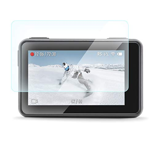 Lcd-ausgeglichenes Glas (OSALADI 1 Satz Kamera Ausgeglichenes Glas 2.5D Objektiv LCD Screen Protector Film Schutz Full Cover Sport Kamera Screen Protector Folien)