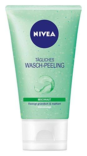 Nivea Tägliches Wasch-Peeling für Mischhaut, 6er Pack (6 x 150 ml)