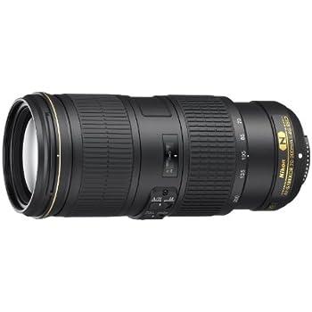 Nikon AF-S Nikkor 70-200mm f:4G ED VR - Objetivo (Estabilizador óptico, diámetro: 67mm), negro
