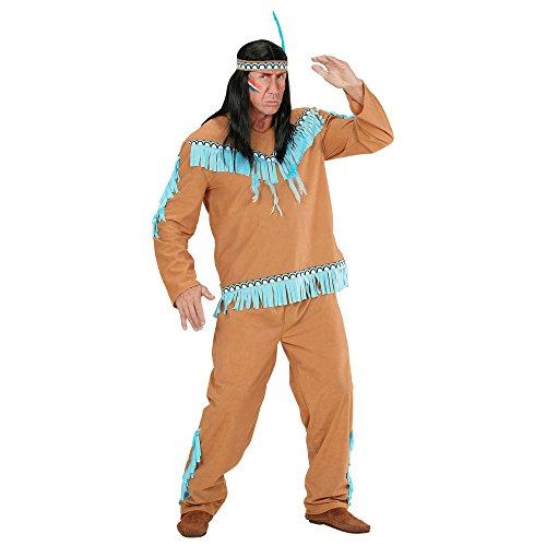 Imagen de disfraz de hombre indio marron adulto carnaval