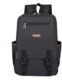 Evay 14 pulgadas portátil portátil mochila para adolescentes y niñas  Vintage estilo universidad bolsa de escuela 345b7b62a27