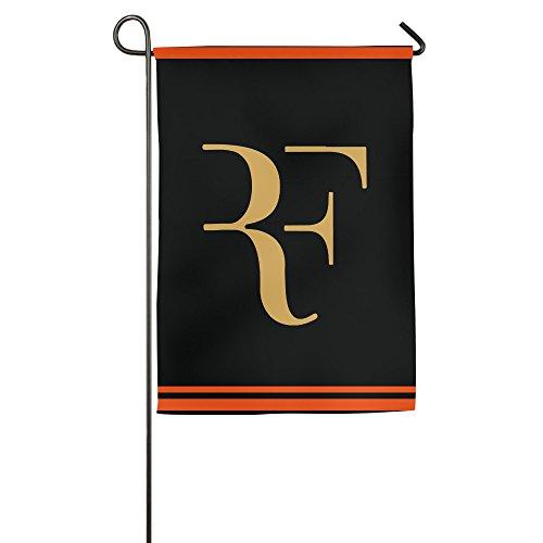 k-fly2Individuelle Roger Federer House Flagge Garten Flagge Zwei Größen, weiß - Kardinäle Polyester