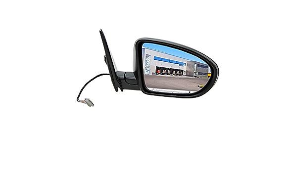 1x Außenspiegel Aussenspiegel Spiegel Seitenspiegel Auto Spiegel Rechts Konvex Beheizbar Elektrisch Abklappbar Grundiert Auto