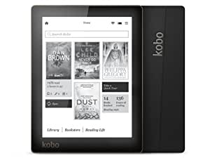 "Kobo Aura Tablette tactile 6"" (15,24 cm) (4 Go, 1 Port USB 2.0, Noir)"
