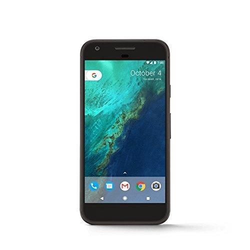 Google Pixel - 32 GB - Schwarz (Zertifiziert und Generalüberholt)