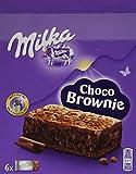 Milka Choco Brownie - Einzeln verpackte Schokoladenkuchen von Milka - je 6 Stück - 13 x 150g