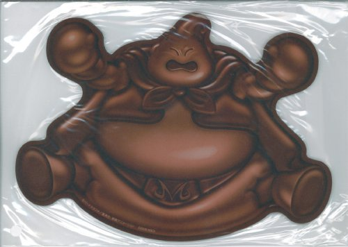 """Chocolate-type mouse pad of Majin Buu"" Dragon Ball Z: Infinite World benefits (japan import)"