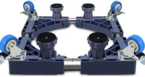 LBLWXH Base Speciale Multifunzione Carrello della della della Lavatrice Base Quadrata del Carrello Regolabile per Asciugatrice,4(Fixed-Foot)+4Brake(Single-Wheel)-grigio | Buona reputazione a livello mondiale  | Materiali Di Qualità Superiore  | Essere Nuovo Nel Des 48a0c6