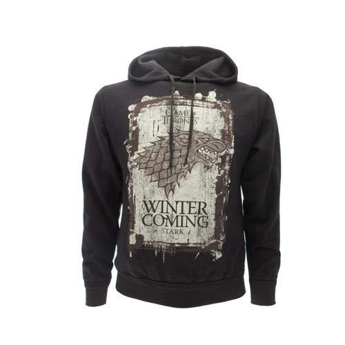 Sudadera Capucha Hoodie Winter IS Coming