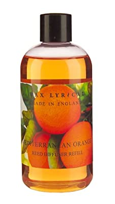 Wax Lyrical 250 ml Reed Diffuser Refill, Mediterranean Orange