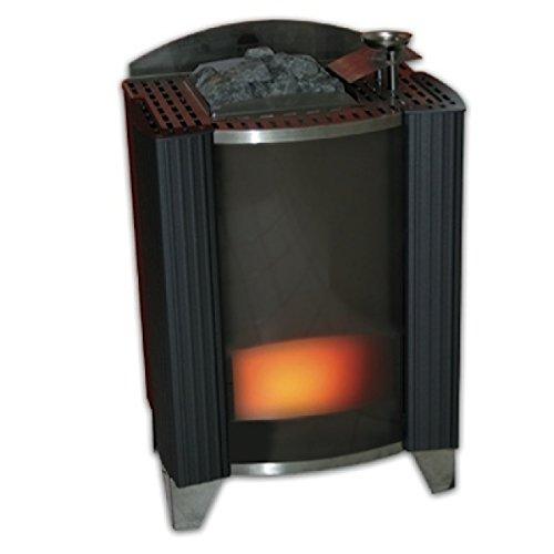 Eos Premium Saunaofen/Standofen Bi-O-Germanius anthrazit-perleffekt 15kW 94.3928