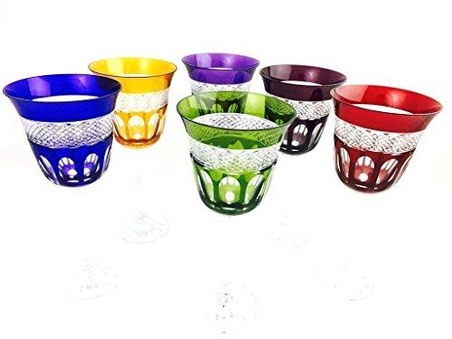 Weingläser handgemacht, Service 6 Gläser (18 cl), Roemer Glaskristall, Unterschrieben und...