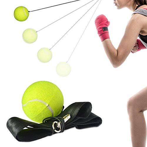 Boxing Reflex Ball verbessert die Reaktionsfähigkeit der Hand Auge Koordination
