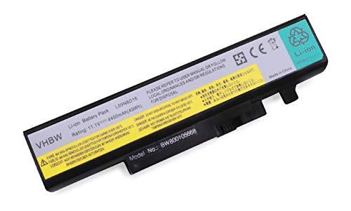 vhbw Batterie 4400mAh (11.1V) pour Ordinateur Notebook Lenovo IdeaPad Y460 Y460A Y460C Y460G Y460N Y460P Y560 Y560A Y560DT-ISE Y560G Y560P Y560PT-ISE.