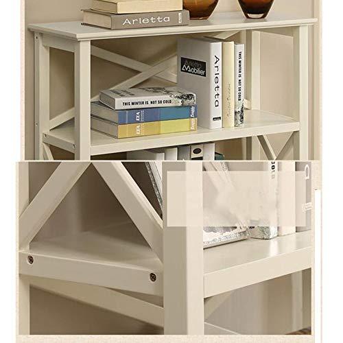 MDD Regal Regaleinheit Bücherregal Lagerschrank 80 x 30 x 100 cm Regal platzsparend und einfach zu installieren,Nussbaum -