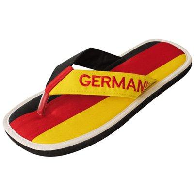 """Zimt-Slipper Nawemo """"Deutschland"""", WM-Edition (Zimtlatschen), Größe 38/39"""