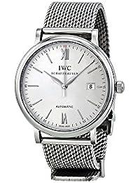 196630d9288e IWC RELOJ DE HOMBRE AUTOMÁTICO 40MM CORREA Y CAJA DE ACERO IW356505