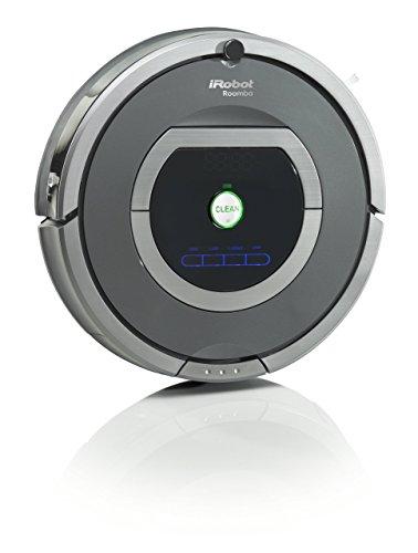 iRobot R782 Staubsaug-Roboter (Raum-zu-Raum Funktion, Füllstandanzeige) grau