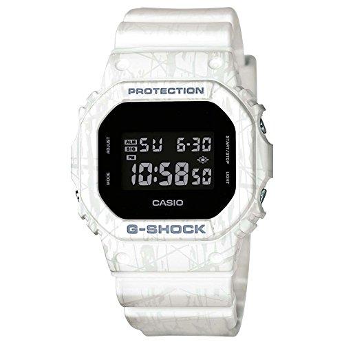 Casio Herren-Armbanduhr Digital Quarz One Size, schwarz, weiß