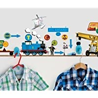 Thomas the Tank Engine and Friends Hang Wall Tidy