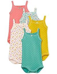 Petit Bateau Lot 5 Bodi Body, 00, 62 (Tamaño del Fabricante:3M) (Pack de 5 para Bebés