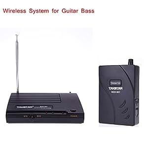 Kit Amplificateur Système MU Takstar WGV-601 Guitare basse électrique transmission audio sans fil émetteur récepteur Top Qualité