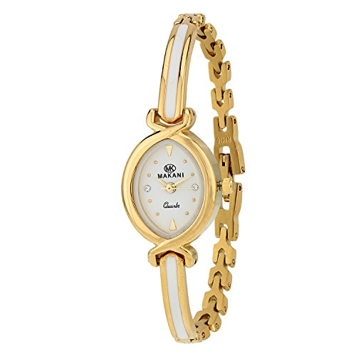 Makani Diva Collection Analog White Dial Women\'s Watch - shreya0507