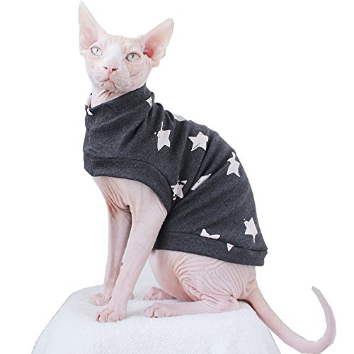 Fashion Cat warme Kleidung Cat dünn sweater-best für haarlose Katze (Sphynx Katze Kostüm)