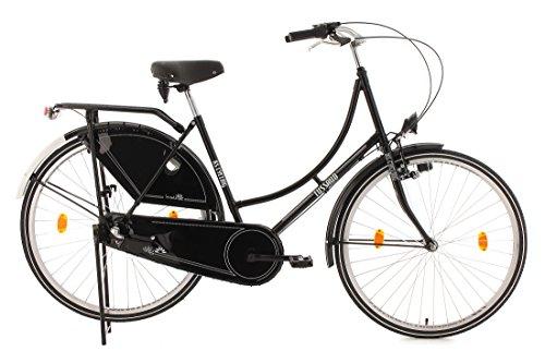 Vélo hollandais 28'' Tussaud Classic noir TC 54 cm KS Cycling