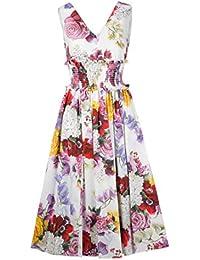 Dolce E Gabbana Vestito Donna F6D2STGDL71HAW86 Poliestere Multicolor 8b207e1371c