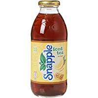 Snapple Lemon Iced Tea Soft Drink 473 ml x 12