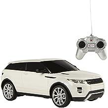 Rastar - Range Rover Evoque, coche teledirigido, escala 1:24, color blanco (ColorBaby 75897)