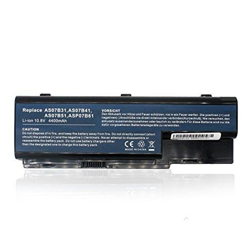Batería de Repuesto AS07B31 AS07B32 AS07B41 AS07B42 AS07B51 AS07B52 AS07B71 AS07B72 para Acer Aspire 5230 5330 5535 5710 7720 Series Portátil Bateria-10.8V 4400mAh