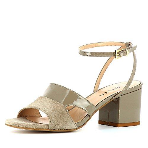 Evita Shoes  Mariella, Sandales pour femme Taupe