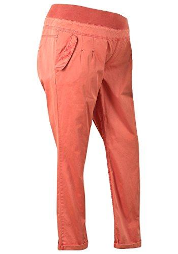 Ex Store Coton Maternité tirer sur Pantalon Orange - Orange - 36