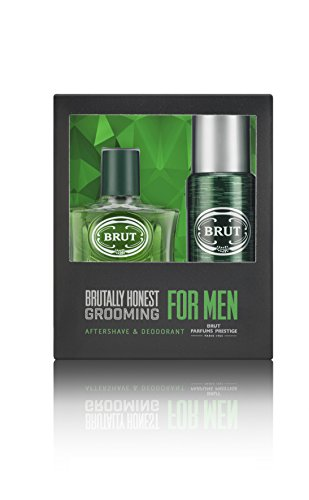 BRUT Gift Set contains Aftershave 100 ml and Deodorant 200 ml