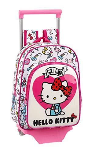 Hello Kitty Mochila pequeña Ruedas