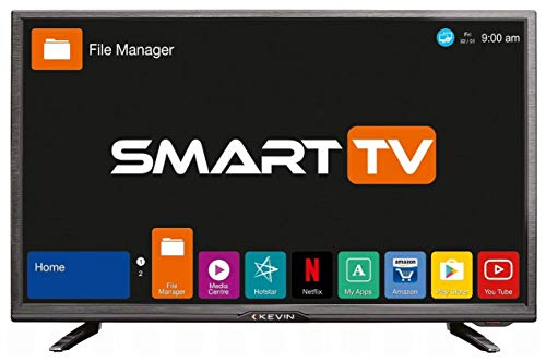 Kevin 80 cm (32 Inches) HD Ready LED Smart TV KN32S (Black)
