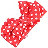 Gilroy Baby Girl Newborn Bowknot Polka Dot Headband Hair Band - B