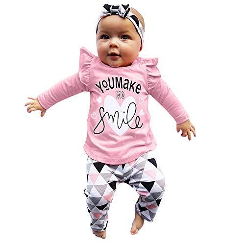 13 Alter Kostüm Batman - Cooljun Baby Kleidung Set 4Pcs Neugeborene Jungen Mädchen Sommer Kurzarm Strampler Overall Tops+Hosen+Hut+Stirnbänder Romper Outfits Spielanzug Set (12-18 Monat, Rosa)