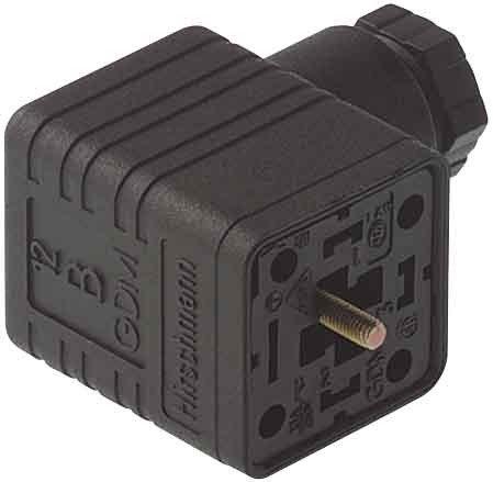 Peres Leitungsdose GDM 3016 sw Sensor-Aktor-Steckverbinder 4002044201128