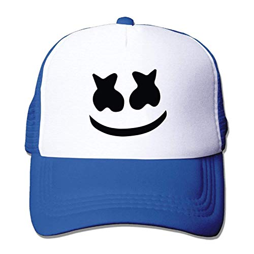 fboylovefor Adult Mesh Baseball Cap Marshmello Face Trucker Hat (5 Colours) e035e9e923b