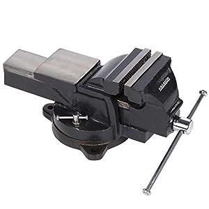 KREATOR KRT554013 – Tornillo de banco girat. 150mm