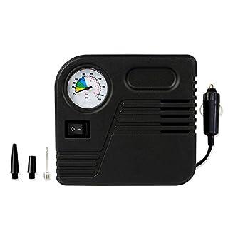 Luftkompressor, Amytech Mini Tragbar Reifenkompressor Luftpumpe mit Zigarettenstecker zu Max. 150 PSI für Reifen, Sportbälle und Schwimmreifen